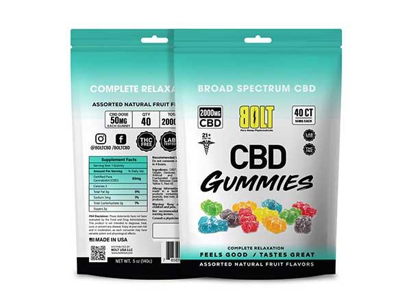 Gummies 40ct Seagreen New